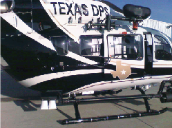 Meeker Multi-Purpose Step Mount on Dept. Of Public Safety Helicopter