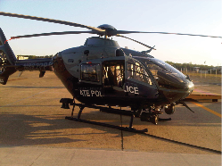 Meeker Multi-Purpose Step Mount on State Police Helicopter
